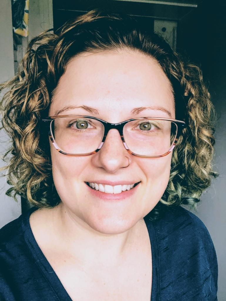 Photo of the blog author, Stephanie Duby